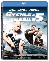 Rychle a zběsile 5 (Fast and Furious 5, 2011) (Blu-ray)