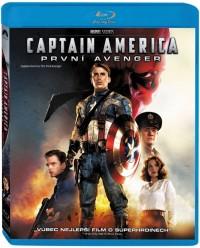 Captain America: První Avenger (Captain America: The First Avenger, 2011) (Blu-ray)
