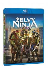 Želvy Ninja (Teenage Mutant Ninja Turtles, 2014) (Blu-ray)