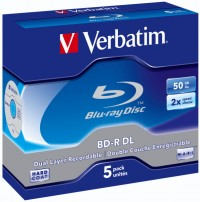 Verbatim Blu-ray BD-R 2x Dual Layer 50 GB