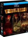 Trilogie Piráti z Karibiku (Pirates of the Caribbean Trilogy, 2007) (Blu-ray)